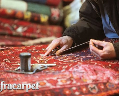 چه زمانی نیاز به رفوگری فرش در قالیشویی داریم؟
