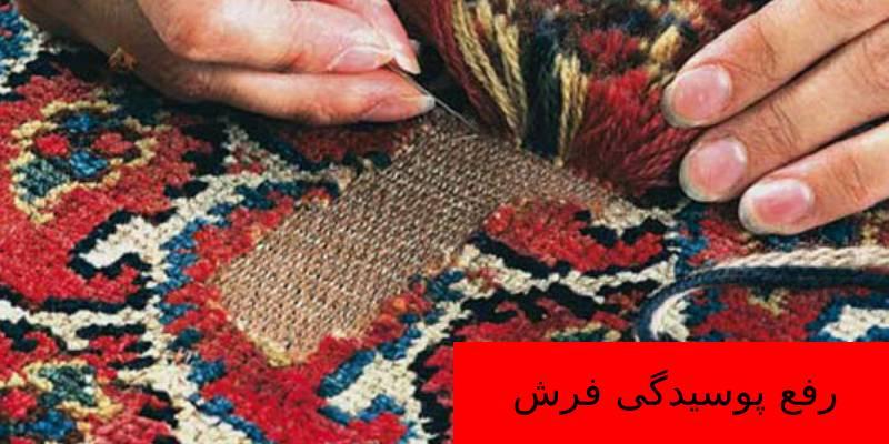 برطرف کردن پوسیدگی فرش