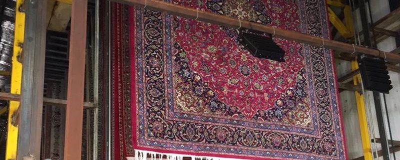 زمان تحویل فرش ها در قالیشویی ها ی مکانیزه به چه صورت است؟