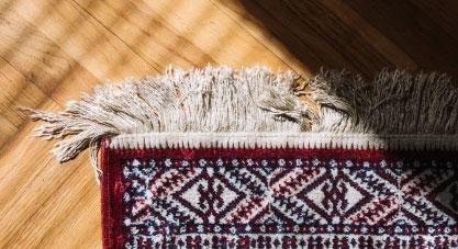 نگهداری از ریشه های فرش