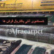 خدمات آنتی باکتریال شستشوی فرش