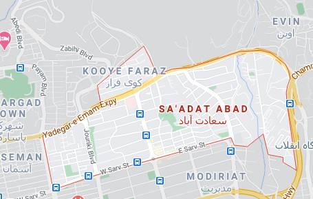 منطقه سعادت آباد