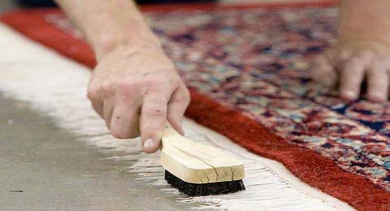 شستشوی ریشه فرش